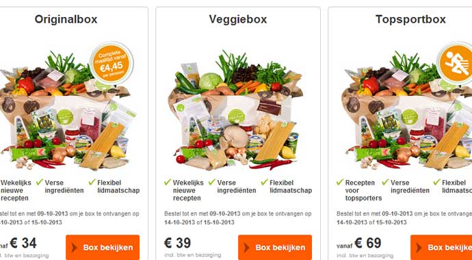 Review: HelloFresh - Maaltijdabonnement - I'm a Foodie