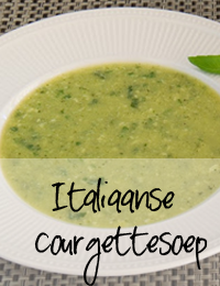 Italiaanse-courgettesoep