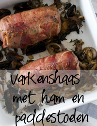 Varkenshaas-met-ham,-tijm-e