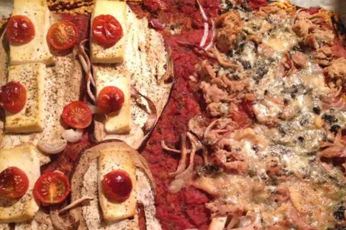 Veganchallenge-pizza