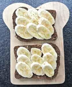 Banaan ontbijt recepten