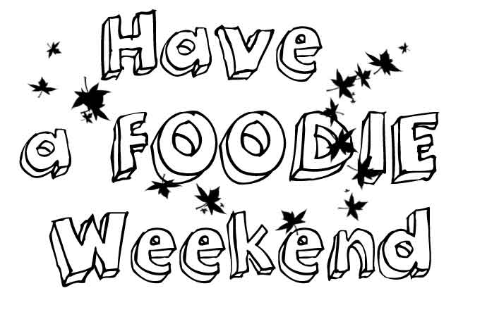 Foodie weekendguide