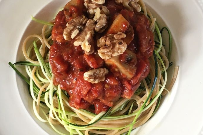 Spaghetti & courgetti