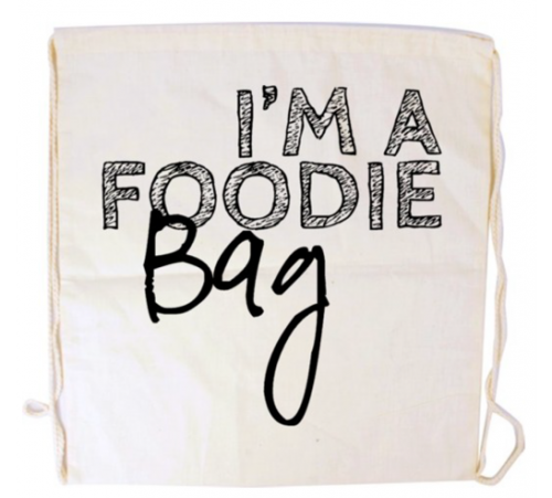 I'm a Foodie bags