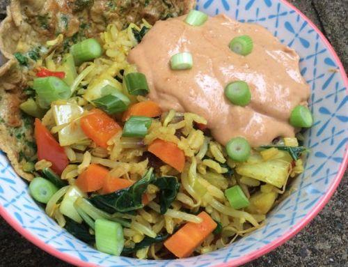 Recepten die ons boek boek Eet als een expert niet hebben gehaald: #4: Nasi