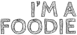I'm a Foodie Sticky Logo Retina
