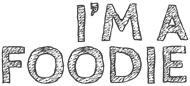 I'm a Foodie Mobile Logo