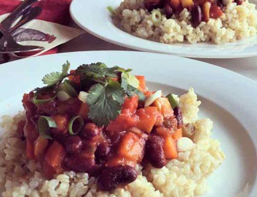 Januari recept: Chili sin carne!