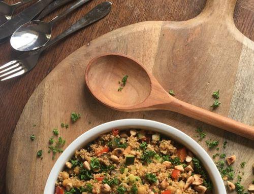 Juni recept: Marokkaanse couscous met geroosterde groenten