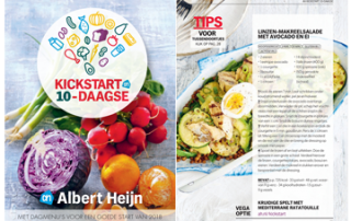 AH-Kickstart 2018 Campagne: blogs & moderating op Facebook