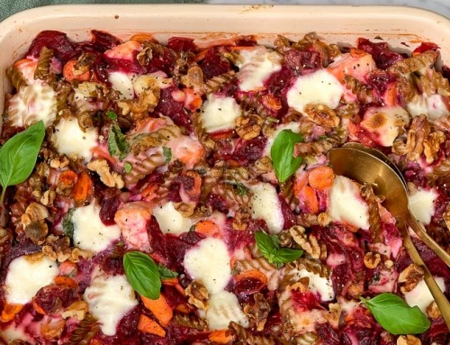 Snelle maaltijden, voor vandaag én morgen: ovenpasta met zalm en mozzarella