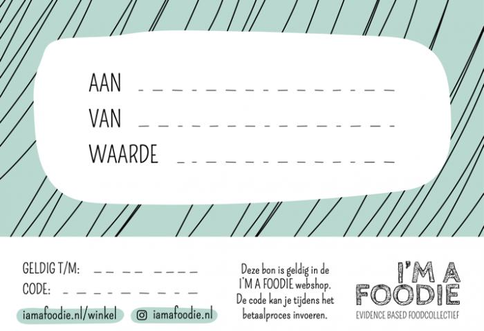 I'm a Foodie giftcard