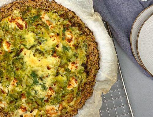 Snelle maaltijden, voor vandaag én morgen: quiche van quinoa met broccoli en prei