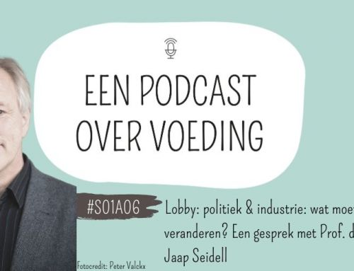 #S01A06: Lobby: politiek & industrie: wat moet er veranderen? Een gesprek met Prof. Dr. Ir. Jaap Seidell