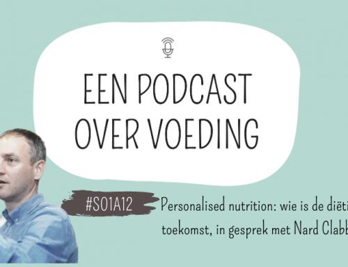 #S01A12: personalised nutrition: wie is de diëtist van de toekomst, in gesprek met Nard Clabbers