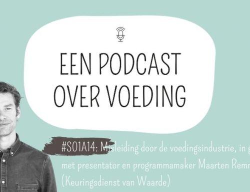 #S01A14: Misleiding door de voedingsindustrie, in gesprek met presentator en programmamaker Maarten Remmers (Keuringsdienst van Waarde)