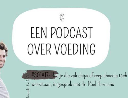 #S01A17: Hoe je die zak chips of reep chocola tóch kan weerstaan, in gesprek met dr. Roel Hermans