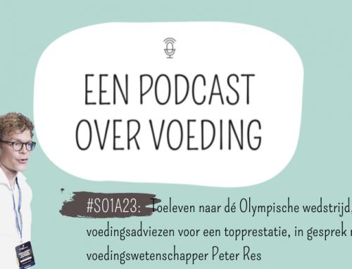 #S01A23: Toeleven naar dé Olympische wedstrijd, voedingsadviezen voor een topprestatie, in gesprek met voedingswetenschapper Peter Res