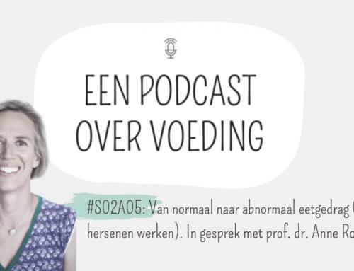 #S02A05: Van normaal naar abnormaal eetgedrag (en hoe je hersenen werken). In gesprek met prof. dr. Anne Roefs